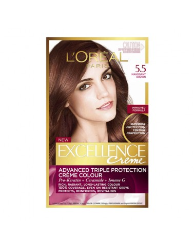 L'Oreal Hair Color Excellence Creme 5.5