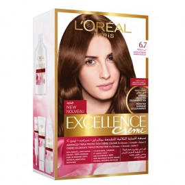 L'oreal Hair Color Excellence Creme 6.7