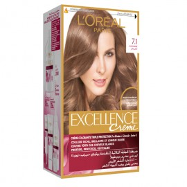 L'oreal Hair Color Excellence Creme 7.1