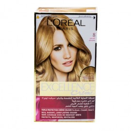 L'oreal Hair Color Excellence Creme 8