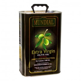 Mundial Extra Virgin Olive Oil Tin 3ltr