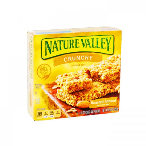 Nature Valley Crunchy Granola Bar Roasted Almond 253g