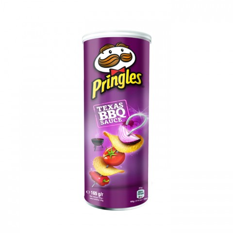 Pringles Barbeque Chips 165g
