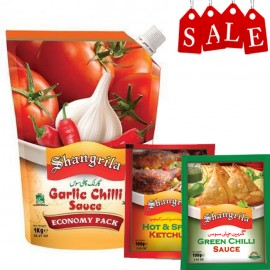 Shangrila Garlic Chilli Sauce 1 Kg Offer