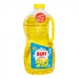 Sufi Canola Cooking Oil - 3 Ltr