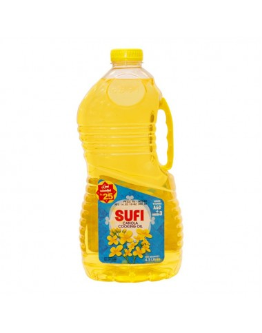 Sufi Canola Cooking Oil - 4.5 ltr