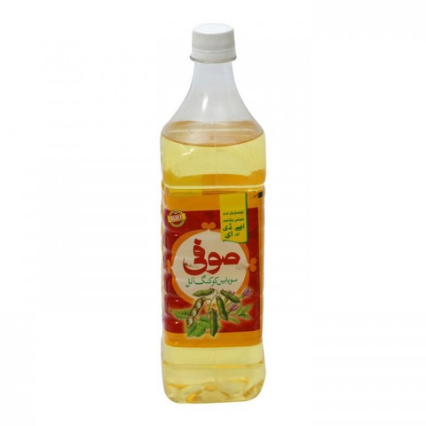 Sufi Soybean Cooking Oil - 1 ltr