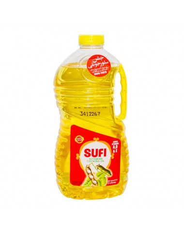 Sufi Soybean Cooking Oil - 3 ltr