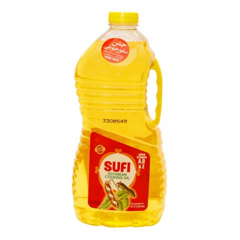 Sufi Soybean Cooking Oil - 4.5 ltr