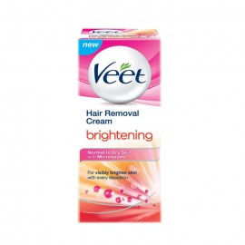 Veet Hair Removal Cream Brightening (normal To Dry Skin) 50g