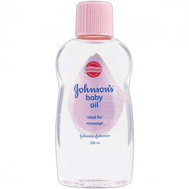 Johnson's And Johnson Baby Oil
