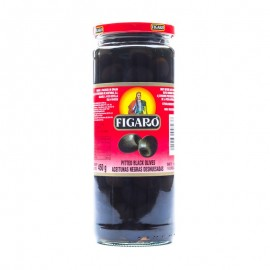 Figaro Pitted Black Olives 450g