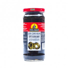 Figaro Sliced Black Olives 340g