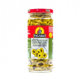 Figaro Sliced Green Olives 240g