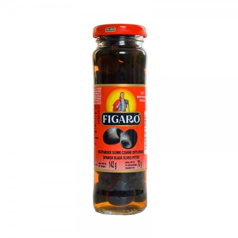 Figaro Black Olives Pitted - 142g