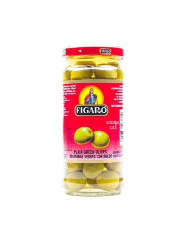 Figaro Plain Green Olives 240g