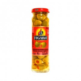 Figaro Stuffed Green Olives 142g