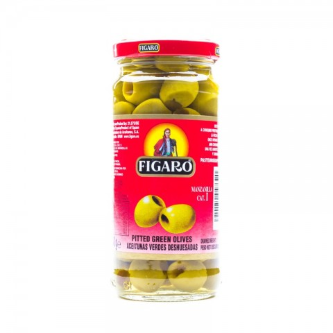 Figaro Pitted Green Olives 450g