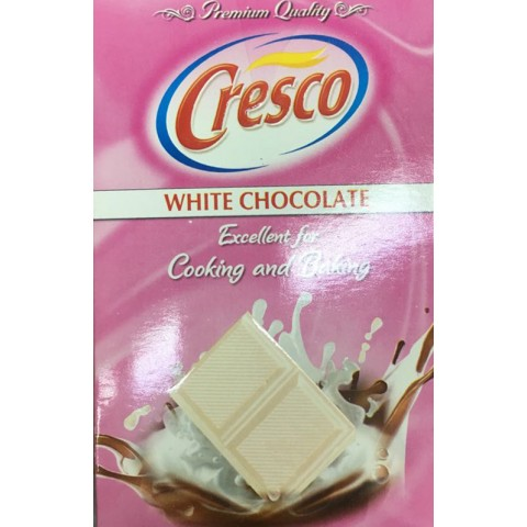Cresco White Cooking Chocolate 250g