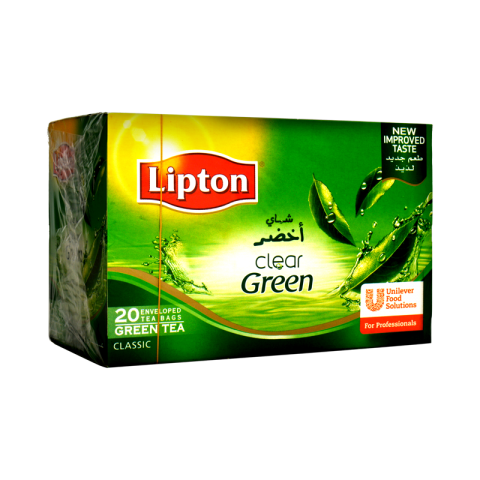 Lipton Clear Green Tea 20's