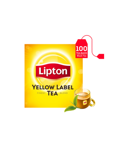 Lipton Yellow Label Tea Bags (100 Bags)
