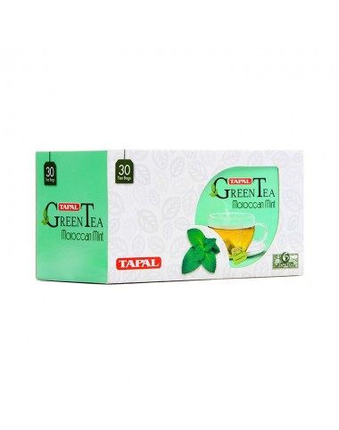 Tapal Green Tea Mint - 30 Bags