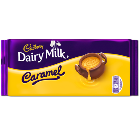 Cadbury Dairy Milk Chocolate Caramel 110g