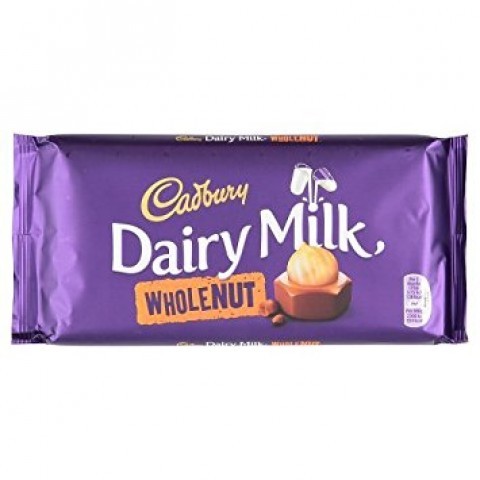 Cadbury Dairy Milk Chocolate (Whole Nut) 200g