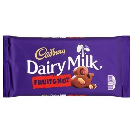 Cadbury Dairy Milk (fruit & Nut) 110g