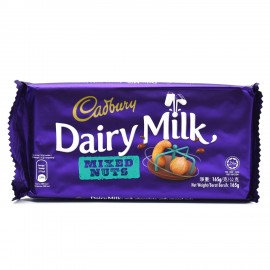 Cadbury Dairy Milk (mixed Nut) 165g