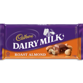 Cadbury Dairy Milk (roasted Almond) 100g