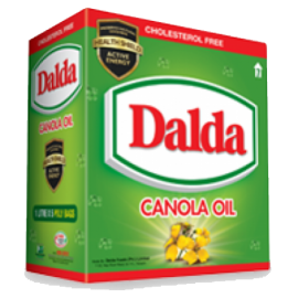 Dalda Canola Oil 5 Pouches