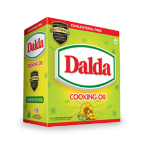Dalda Cooking Oil 5 Pouches