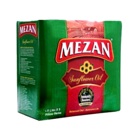 Mezan Sunflower Oil 5 Pouches