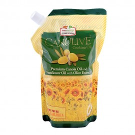 Canolive Cooking Oil Standy Pouch - 1 Litre