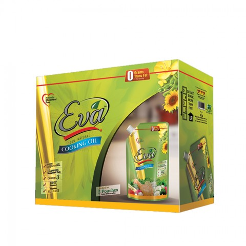 Eva Cooking Oil 5 Pouches