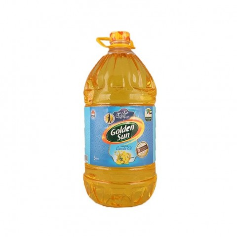 Golden Sun Canola Oil 5 Ltr