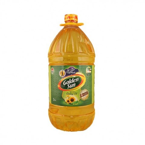 Golden Sun Cooking Oil 5 Ltr