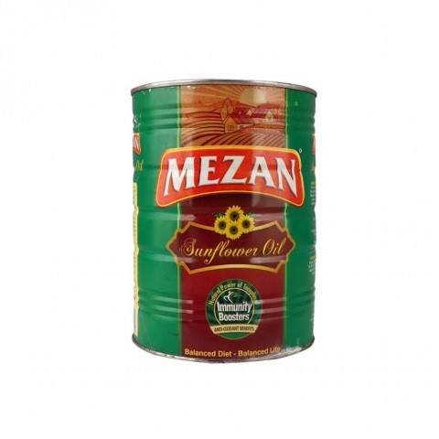 Mezan Sun Flower Oil 2.5 Ltr