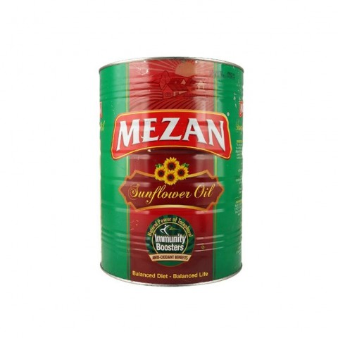 Mezan Sun Flower Oil 5 Ltr