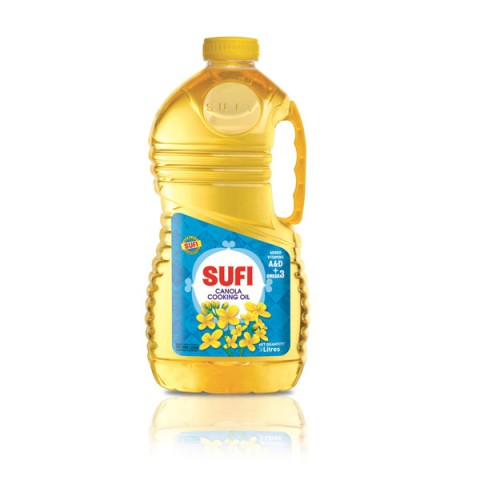Sufi Canola Cooking Oil 3 Ltr