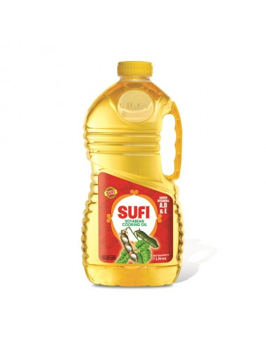 Sufi Soybean Cooking Oil 3 Ltr