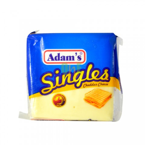 Adams Singles Cheddar Cheese Slice 200g