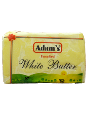 Adams White Butter Unsalted 1Kg