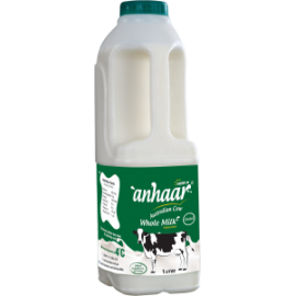 Anhaar Whole Milk 1 Ltr