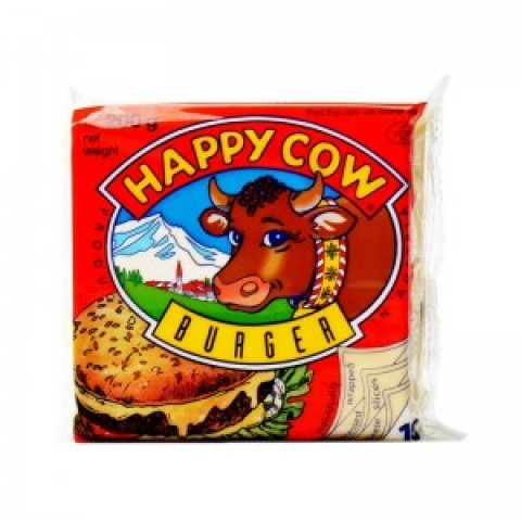 Happy Cow Sliced Cheese Burger (10 Pcs)