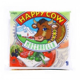 Happy Cow Sliced Cheese Mozzarella (10 Pcs)