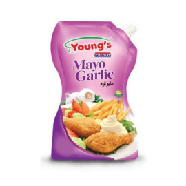 Young's Mayo Garlic 500ml