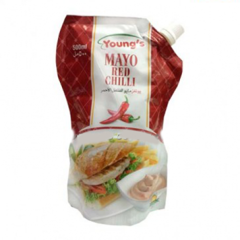 Young's Mayo Red Chilli 200ml