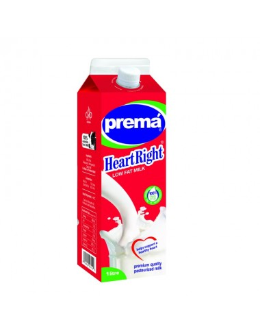Prema Low Fat Milk 1 Ltr